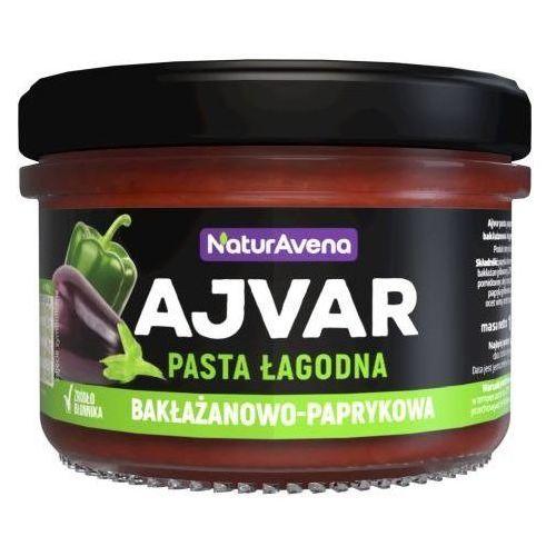 Naturavena Ajvar pasta bakłażanowo-paprykowa łagodna 185g - (5902367406837)