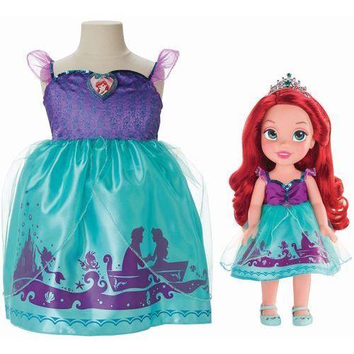 Lalka JAKKS PACIFIC 77028 Arielka z sukienką dla dziewczynek + DARMOWA DOSTAWA! (lalka)