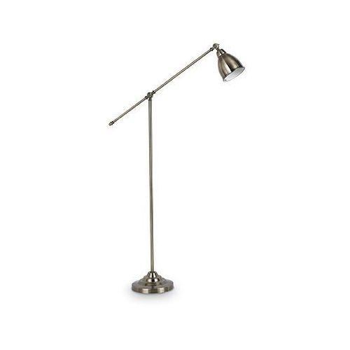 Ideal lux 016375 lampa podłogowa newton pt1 stare złoto