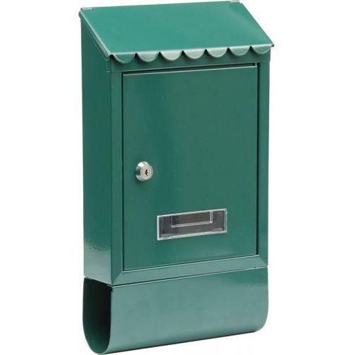 Vorel Skrzynka na listy 380 x 210 x 60 – zielona (78568) - produkt dostępny w Mall.pl