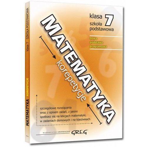 Matematyka - korepetycje - szkoła podstawowa, klasa 7 - Roman Gancarczyk, Roman Gancarczyk