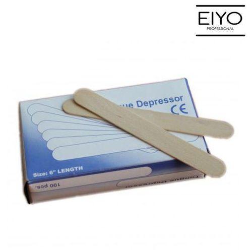 Szpatułki drewniane do depilacji B&M 150 mm x 18 mm - 100 szt
