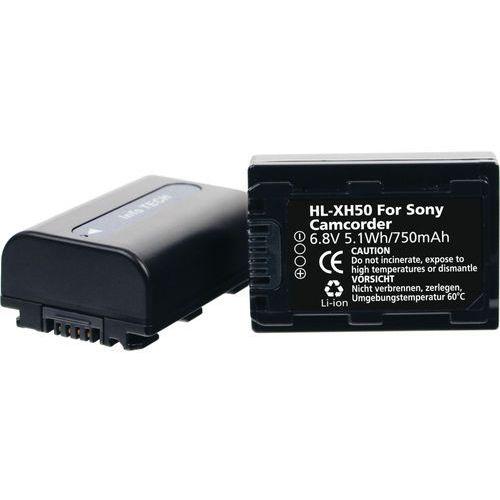 Hahnel Akumulator  zamiennik sony np-fh50 (hl-xh50) 750 mah + darmowy transport!