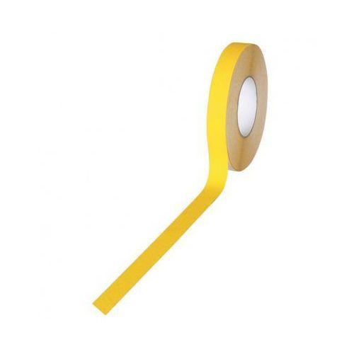 Heskins Taśma antypoślizgowa - grube ziarno 100 mm x 18,3 m, żółta