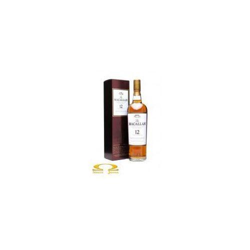 Whisky macallan 12 yo sherry oak + kartonik 0,7l marki Edrington group ltd.