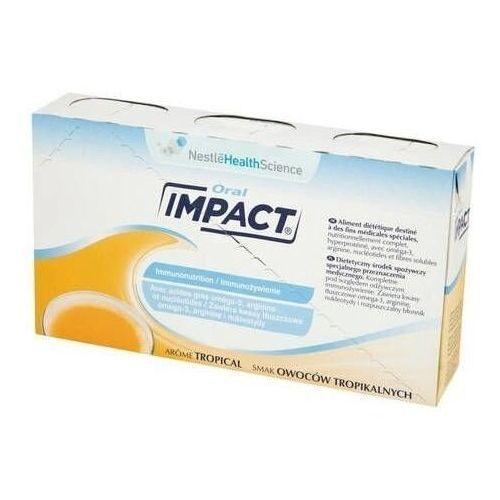 Nestle Impact oral płyn o smaku owoców tropikalnych 237ml x 3 sztuki
