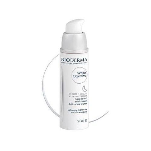 Bioderma - White Objective Serum - Serum na noc rozjaśniające przebarwienia - 30 ml - DOSTAWA GRATIS! - produkt z kategorii- kremy na noc
