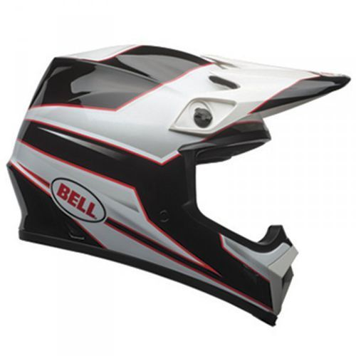 mx-9 mips stryker black/white kask motocross marki Bell