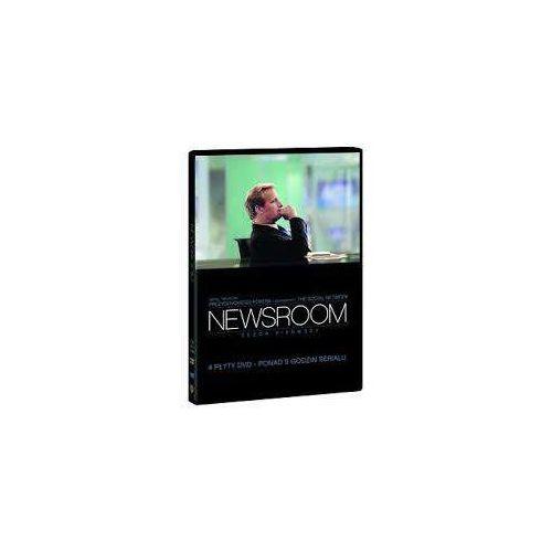 Hbo Newsroom, sezon 1 (dvd) - greg mottola, jeremy podeswa, alan poul darmowa dostawa kiosk ruchu (7321909324169)