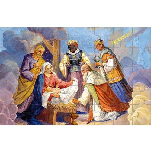 Puzzle dziecięce Boże Narodzenie, UR095