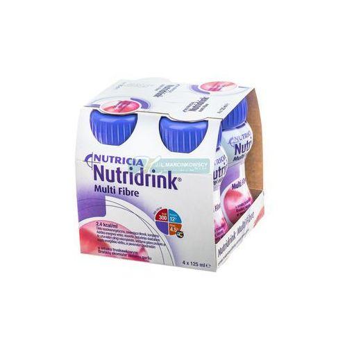 Nutridrink Multi Fibre o smaku truskawkowym 4 x 125ml - sprawdź w wybranym sklepie
