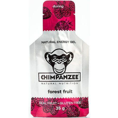 Chimpanzee energy gel sports nutrition forest fruit (vegan) 25 x 35g 2019 batony i żele energetyczne