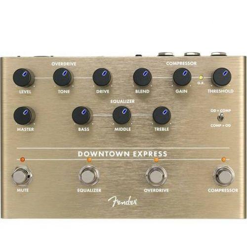 Fender downtown express bass multi effect pedal efekt do gitary
