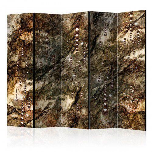 Parawan 5-częściowy - Marmurowe skarby II [Room Dividers]