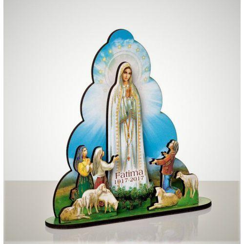 Drewniana figurka matki boskiej fatimskiej marki Produkt polski