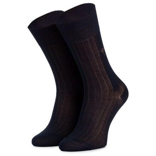 Skarpety Wysokie Męskie JOOP! - New Two Tone Sock I Er 900.078 Navy 3000, kolor niebieski