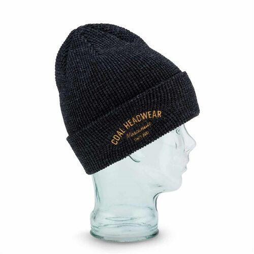Czapka zimowa - the yesler beanie heather black (02) rozmiar: os marki Coal