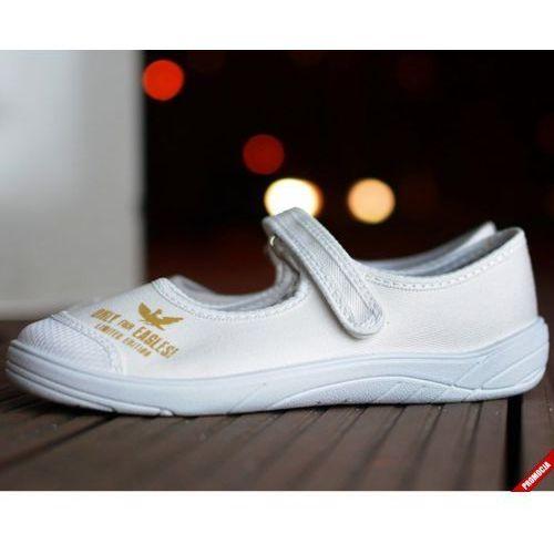 Baleriny 'Slipers.pl Limited BRBB', /rozm. 31-36, białe/ ze sklepu Slippers Family