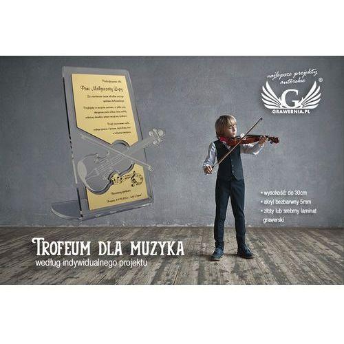 TROFEUM DLA MUZYKA- wg indywidualnego projektu - model DTA11