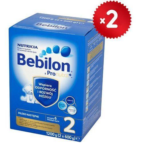 Bebilon Zestaw 2x  1200g 2 z pronutra mleko następne powyżej 6 miesiąca