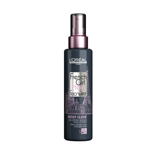 LOREAL FRENCH GIRL MESSY CLICHE spray efekt potarganych włosów 150ml, LT18-E1710801