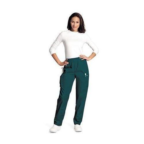 Damskie spodnie medyczne Landau 8501 - ROYAL BLUE M (odzież medyczna)