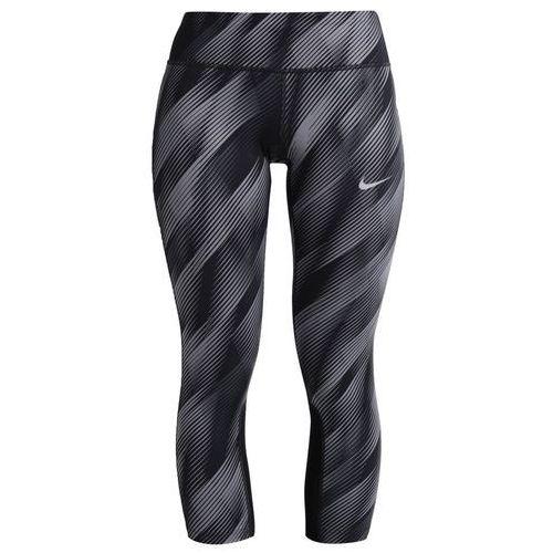 Nike Performance EPIC Legginsy black/silver, kolor czarny, od rozmiaru 34