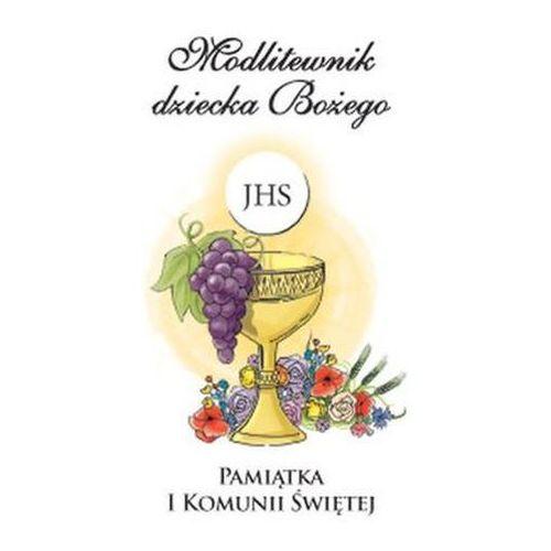 Modlitewnik dziecka bożego pamiątka i komunii świętej wersja dla dziewcząt (biały) marki Ks. tadeusz śmiech
