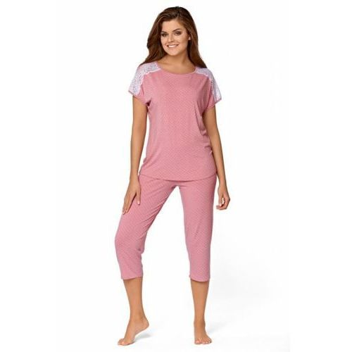 35380af9ed7394 Babella Anna Pastelowy róż piżama damska, kolor różowy ...