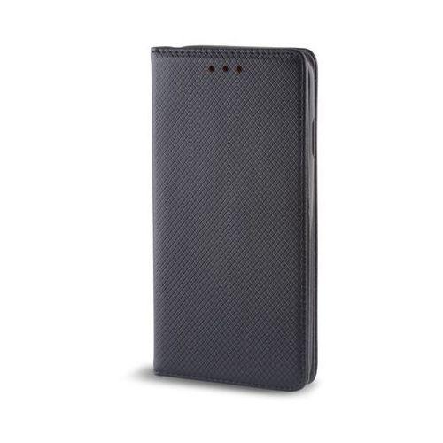 Pokrowiec Smart Magnet do Lenovo K6 Note czarny box, kolor czarny
