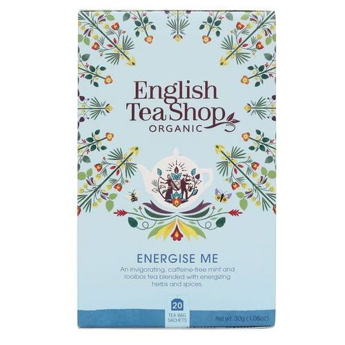 Herbatka Energise Me 20x1,5g BIO 30 g English Tea Shop