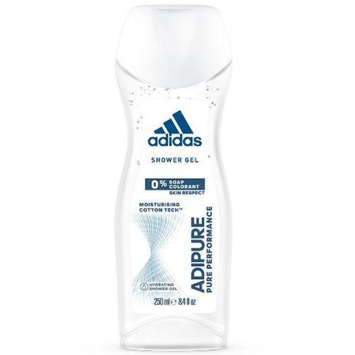 Adidas AdiPure Women 250 ml SHOWER GEL - Adidas AdiPure Women 250 ml SHOWER GEL