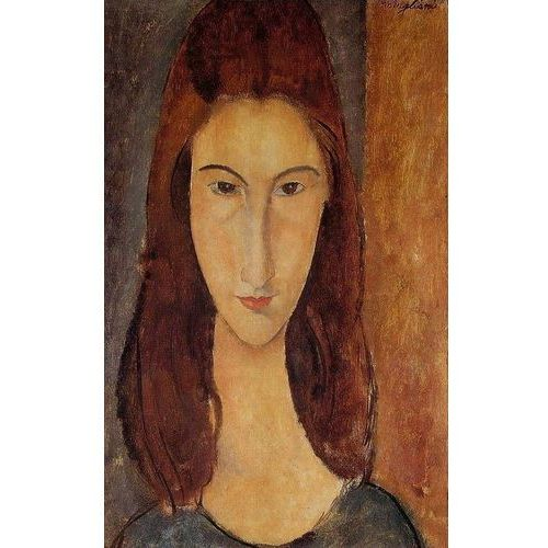 Jeanne Hebuterne - The Artist's Wife - Amadeo Modigliani, ramarama.pl