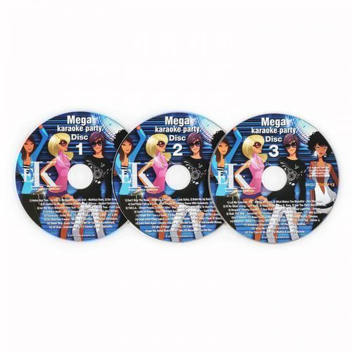 Auna karaoke zestaw płyt cd+g 3 sztuki (4260435914242)