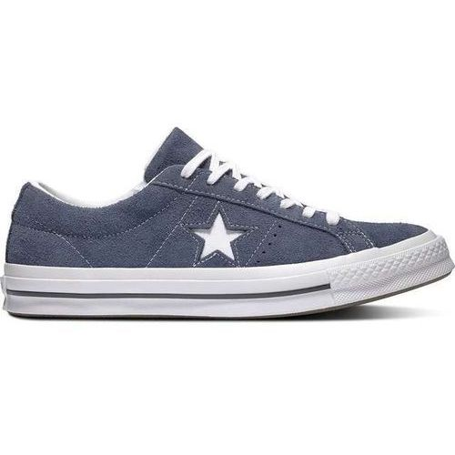 Converse one star '74 premium suede blue