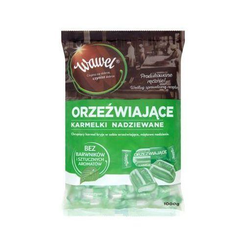 1kg orzeźwiające miętowe karmelki nadziewane marki Wawel