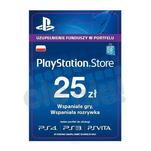 Sony playstation network 25 zł [kod aktywacyjny] (0000006200033)