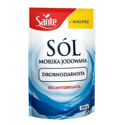 Sante Sól morska drobnoziarnista 350 g (5900617012036)