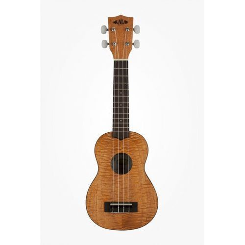exotic mahogany ukulele sopranowe z pokrowcem marki Kala