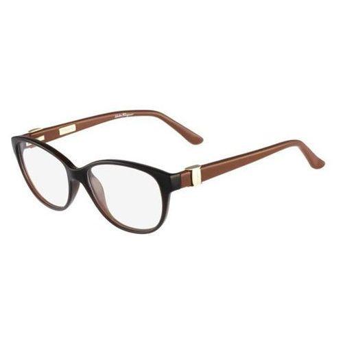 Salvatore ferragamo Okulary korekcyjne sf 2711 210
