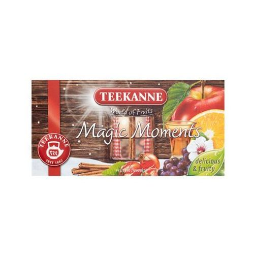20x2,5g world of fruits magic moments herbata owocowa marki Teekanne