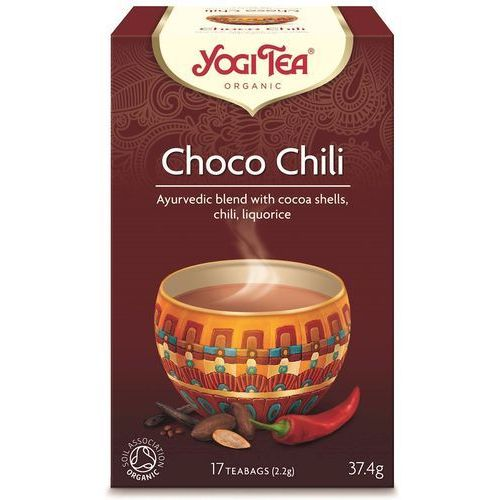 Ajurwedyjska herbata CZEKOLADOWA z CHILI (Choco Chili)