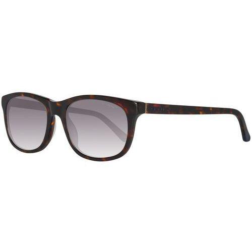 Gant męskie okulary przeciwsłoneczne brązowy (2012584310015)