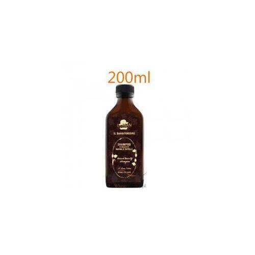 szampon do pielęgnacji zarostu oraz włosów z ekstraktem z owsa zwyczajnego 200ml marki Bioman