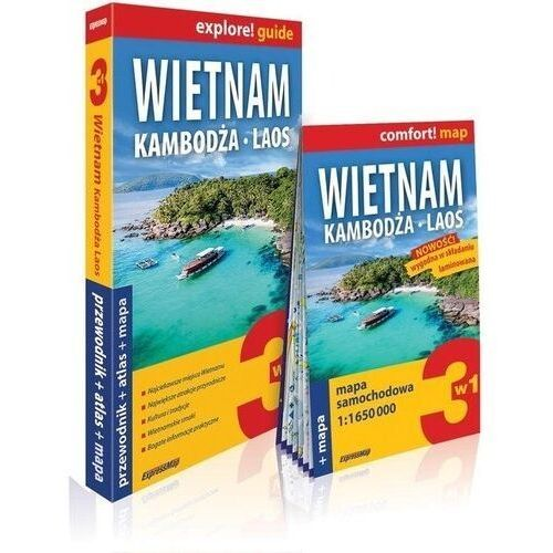 Explore! guide Wietman, Kambodża, Laos 3w1 (9788380464384)