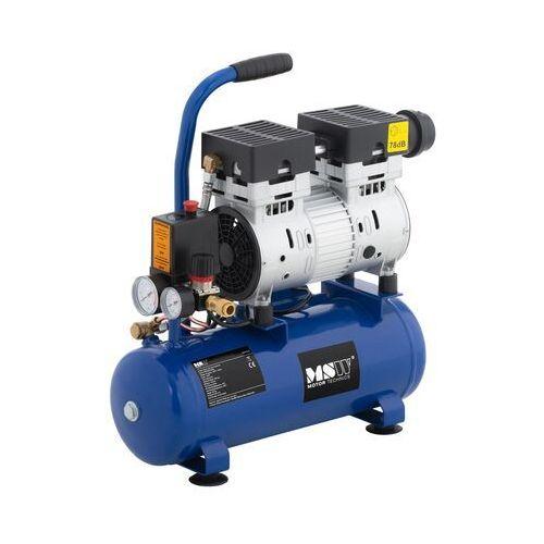 Msw kompresor bezolejowy - 750 w - 8 l - 8 bar msw-0ac750-8l - 3 lata gwarancji