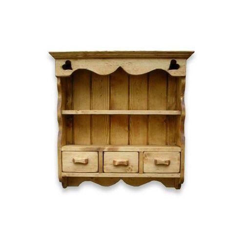 Półka wisząca z drewna świerkowego Mexicana 8, marki Gowood do zakupu w Seart - Meble z Drewna
