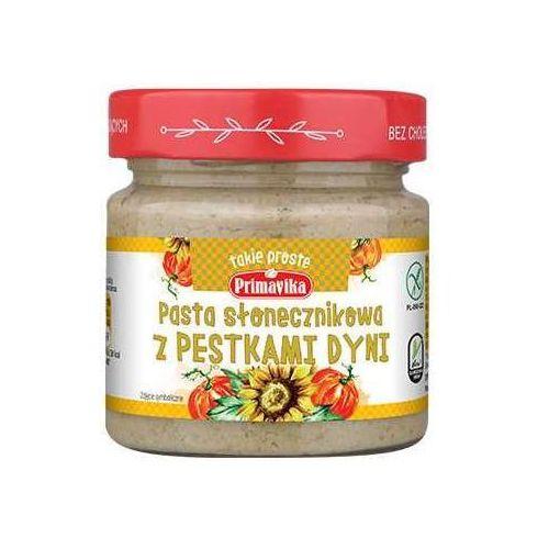 Pasta Słonecznikowa z Pestkami Dyni 160g Primavika