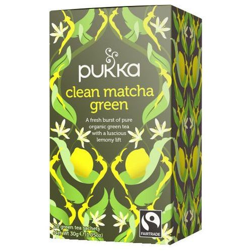Pukka PUKKA Clean Matcha Green - PUK04436 Darmowy odbiór w 21 miastach! (5060229014436)