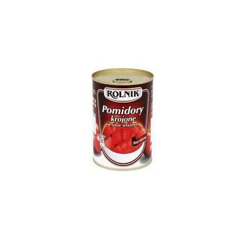 ROLNIK 400g Pomidory krojone w sosie własnym (5900919008157)